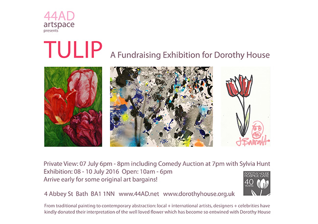 TULIP fundraising exhibition for Dorothy House